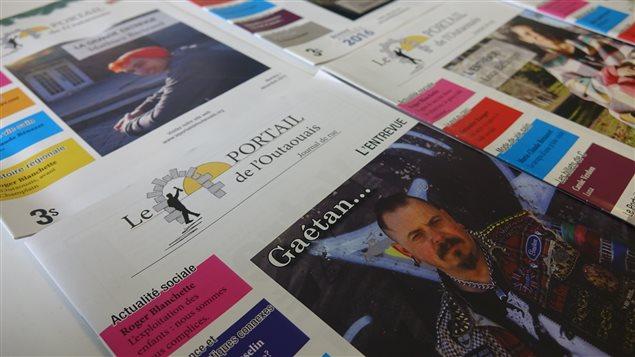 Le Portail de l'Outaouais est un journal de rue publié chaque mois à Gatineau et vendu 3$.