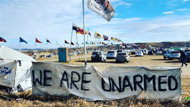 Le mouvement de protestation de la Première Nation Sioux Standing Rock contre la construction du pipeline Dakota Access