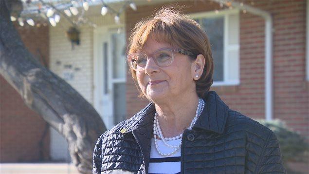 La présidente de l'Assemblée communautaire fransaskoise Françoise Sigur-Cloutier