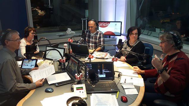Lyson Marcoux et Christian Bouchard à l'émission Facteur matinal (3 novembre 2016)
