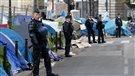 Évacuation d'un camp d'au moins 3000migrants à Paris