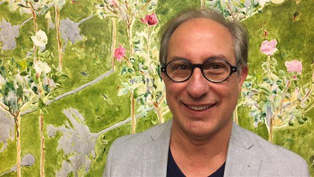 Gilles Groleau, président du Conseil culturel fransaskois