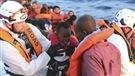 Plus de 2200migrants sauvés en mer Méditerranée
