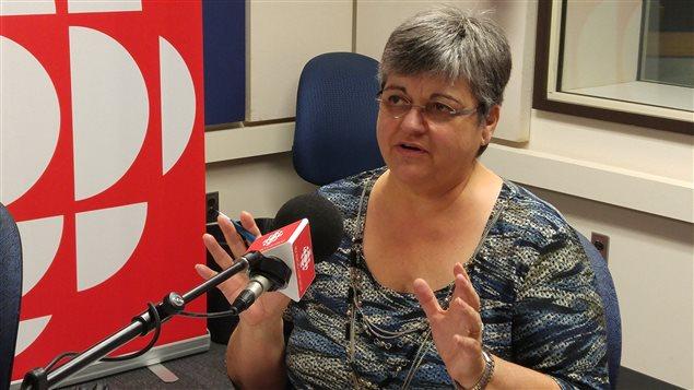 Diane Fortin, conseillère en orientation au cégep de Chicoutimi