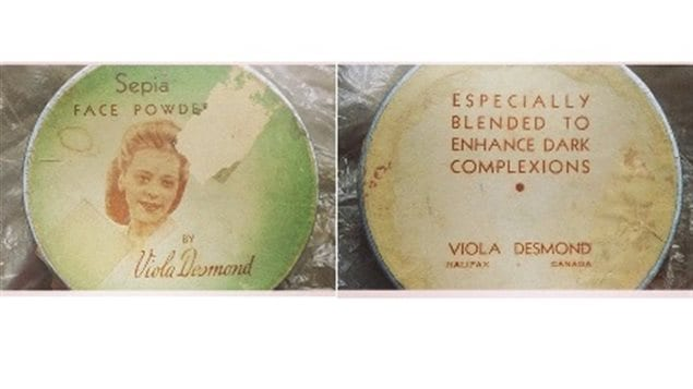 Desmond was a successful businesswoman who ran her own beauty school and created a line of beauty products especially for black women such as this face powder