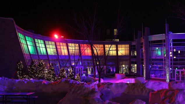 Le bâtiment principal de la Cité francophone à Edmonton