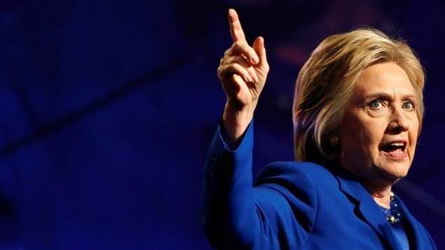 Hillary Clinton   PHOTO : GARY CAMERON/REUTERS
