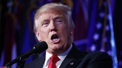 Donald Trump a été élu à la présidence des États-Unis.