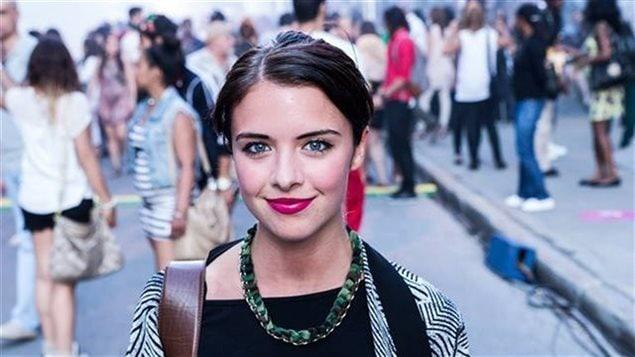 La journaliste culturelle Marie-Ève DuSablon
