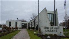 L'hôtel de ville de Matane.
