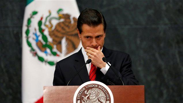 El Presidente de México, Enrique Pena Nieto