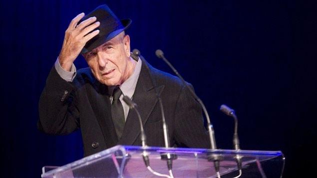 Leonard Cohen recevait le Prix Glenn-Gould à Toronto en mai 2012.