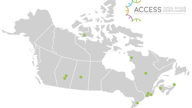 For now, services will be provided from 12 centres across Canada, some of them remote.