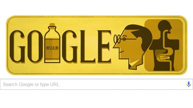 Monday's Google Doodle marks the 125th birthday of Canadian scientist Sir Frederick Banting, who is best known for co-discovering insulin and first testing it on humans.