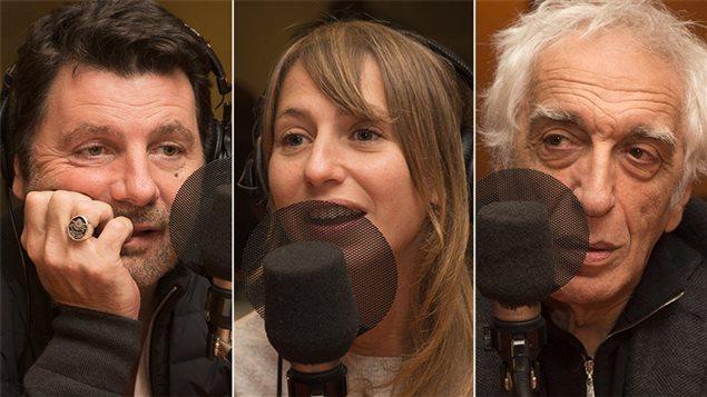 Philippe Lellouche, Laura Boujenah et Gérard Darmon