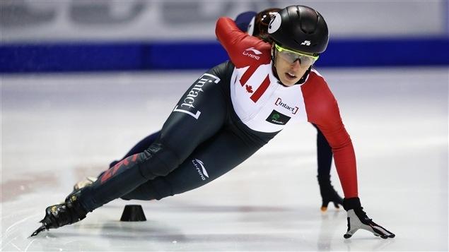 Marianne St-Gelais, dans un tournant sur la patinoire