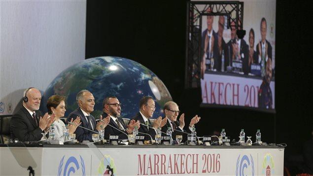 Conférence de Marrakech sur le climat