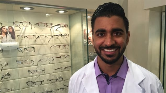 Tarek Bin Yameen is amazed that so many people and organizations volunteered to help provide eye care for Syrian refugees.