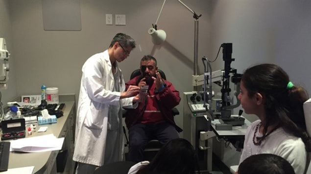 Clinics were staffed by volunteer specialists, optometrists, medical students and translators.