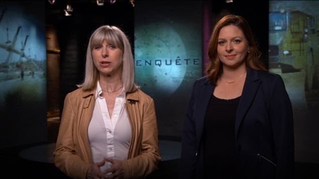 Isabelle Richer and Marie-Maude Denis, hosts of Radio-Canada's investigative program Enquête, both say their phones were tracked by Quebec provincial police. They are two of at least six journalists in Quebec known to have been spied on by police