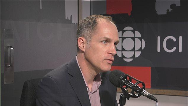 Charles-Henri Warren, directeur général de la Direction des affaires francophones de la Saskatchewan