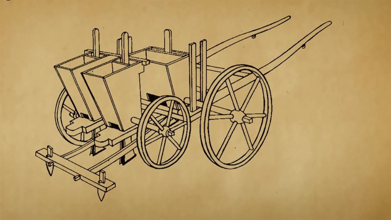 L'invention du semoir