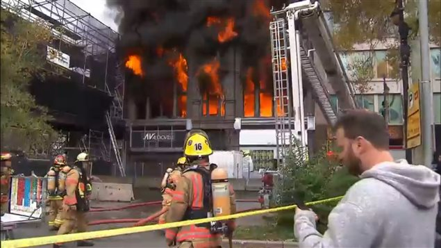 Toxic fumes from burning buildings put firefighters at much greater risk of developing various cancers.