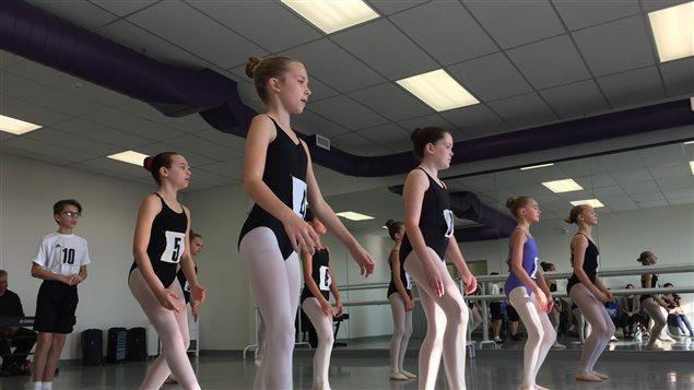L'audition à l'École nationale du ballet