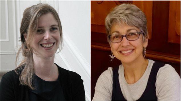 Laura Atran-Fresco et Amanda LaFleur
