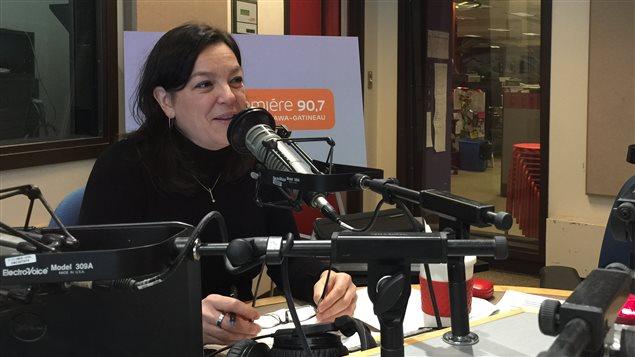 Me Sonia Ouellet, présidente de l'Association des juristes d'expression française de l'Ontario