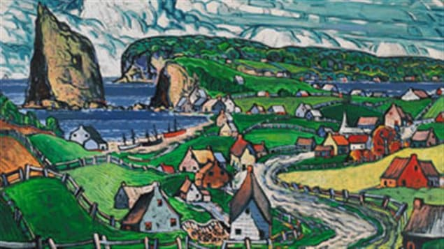 Marc Aurele Fortin's *Gaspesie* to be auctioned tonight as part of a major online auction: estimated C$700,000-$900,000