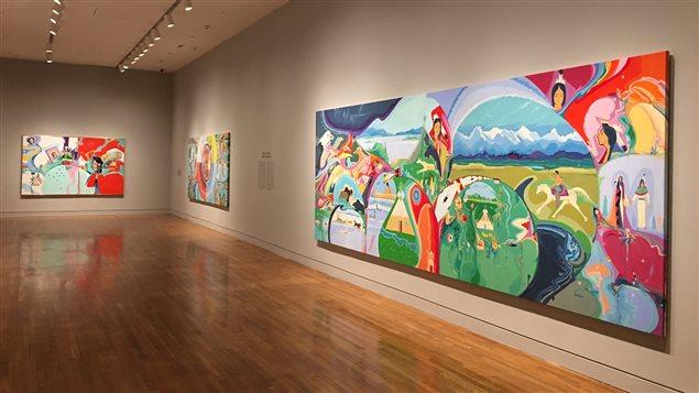 Une exposition consacrée à Alex Janvier au Musée des Beaux Arts du Canada.