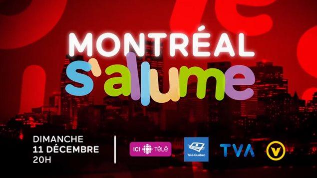 Montréal s'allume est le titre du spectacle de lancement des célébrations du 375 anniversaire de Montréal. La bande-annonce du show a créé la controverse. Image tirée de la bande annonce.