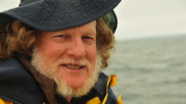Prof. Hal Whitehead says Northern bottlenose whales depend on sound, but it can kill them.