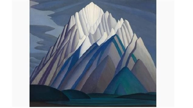 *Mountain Forms,* an iconic 1926 Rocky Mountain canvas