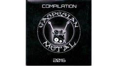 Compilation de pièces provenant de 26 groupes de musique de rock métal