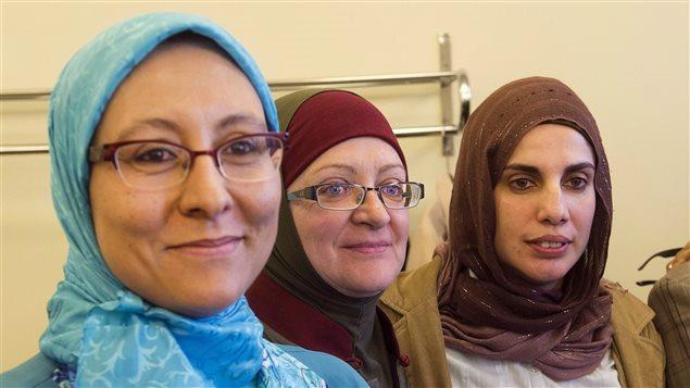 Des femmes portant le hijab.Crédit photo : PC / Ryan Remiorz