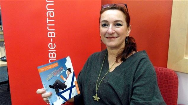 Dana Camil Hewitt, directrice du Festival du livre juif de Vancouver