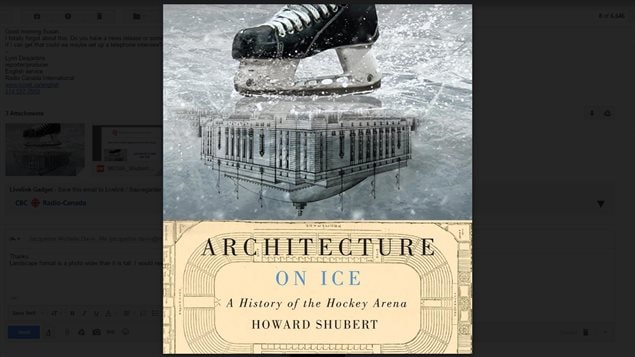 Howard Shubert's book describes the different facilities created for skating and hockey and how they have influenced life.