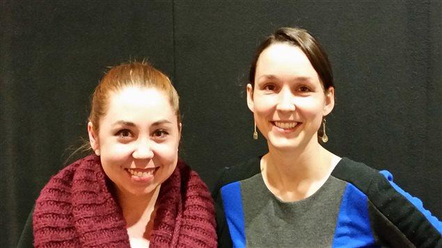Mikayla Pabai et Alisha Duret, récipiendaires du Prix avenir prometteur Saint-Jean