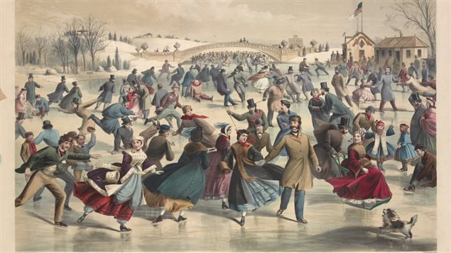 A new book traces how skating rinks moved from frozen ponds to artificial surfaces in large arenas.