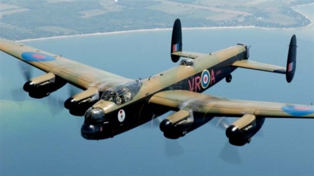 the CWHM Lancaster, one of only two airworthy such planes remaining.