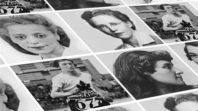 Images of Canadian women who have been influential in society. Of the five women who have made the short list, one of these images will appear on a banknote in 2018.