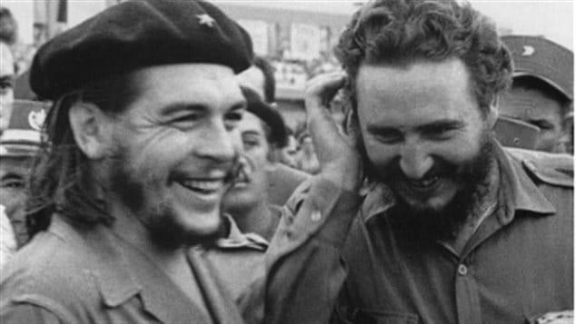 Che Guevara y Fidel Castro en los años 60