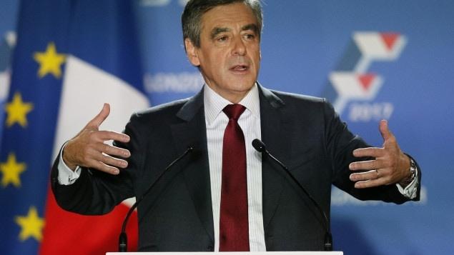 François Fillon, candidat de la droite pour l'élection présidentielle de l'an prochain