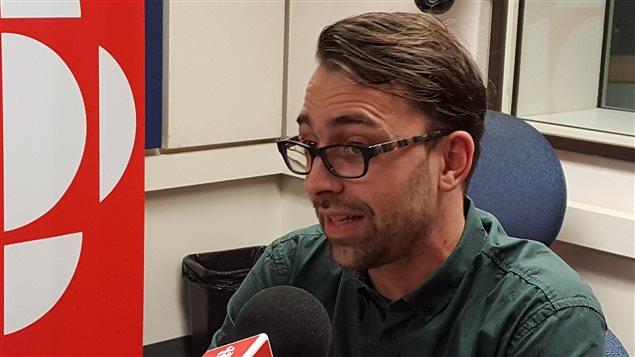 Le directeur des éditions La Peuplade, Simon-Philippe Turcot