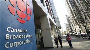 Le siège social de la SRC au centre-ville de Toronto.