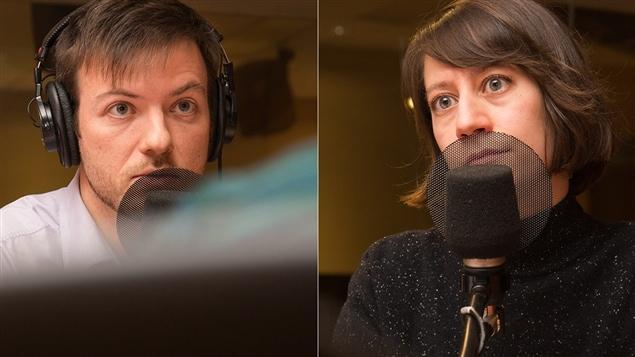 Guillaume Hébert et Julia Posca