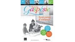 Couverture du Magazine Gaspésie de l'hiver 2016 - numéro 187