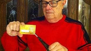 Jim Allen à Toronto dit qu'il a eu une si mauvaise expérience avec la règle d'expiration d'Air Miles, qu'il a décidé de couper sa carte. (Jim Allen)